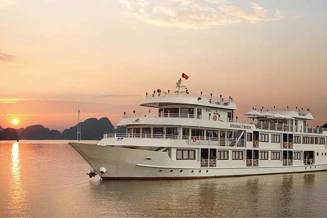 Du lịch Vịnh Hạ Long - Du thuyền Hạ Long 5 sao Athena Luxury