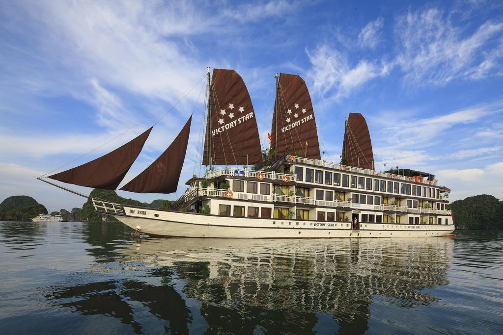 Du thuyền Victory Star Hạ Long có 32 phòng ngủ cao cấp đạt tiêu chuẩn Quốc tế 5 sao