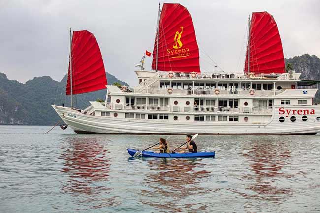 Du Thuyền Syrena Cruises