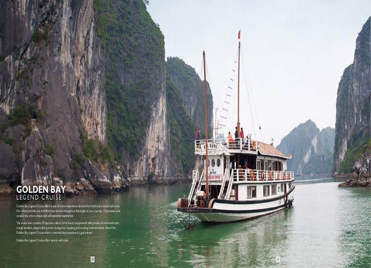 Du thuyền Golden Bay Cruises Du Thuyền 3 Sao