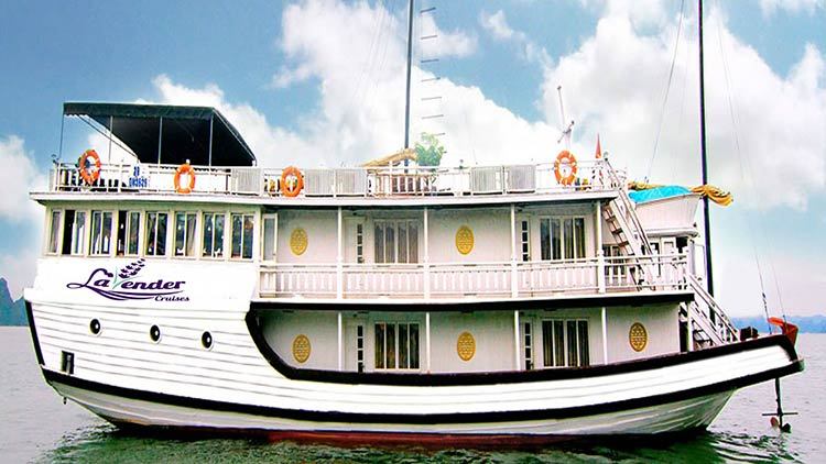 Du thuyền Lavender Cruise 3 sao